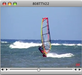 Watch: Aina Haina Windsurfing