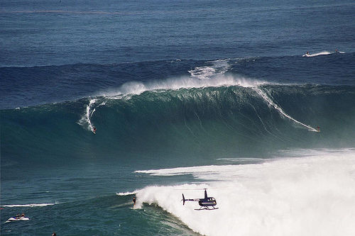 Blue Hawaii Big Wave Surfing