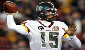 Colt Brennan Once A Warrior Now A Redskin
