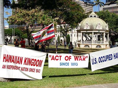 Hawaii Kingdom Government Denied Right To Assemble