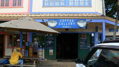 Coffee Gallery Haleiwa (Flickr ©detsugu)