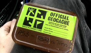 Drive By Geocaching... (Flickr RevDanCatt)