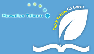 Hawaiian Telcom Think Yellow Go Green