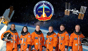 STS-133 Mission Crew (Photo Credit: NASA)