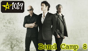 Train to Headline STAR 101.9's BAND CAMP 8 (Photo's Courtesy: Tom Moffat Productions)