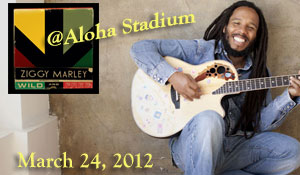 Ziggy Marley WILD and FREE Tour In HAWAII!